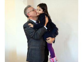 Başkan Arslan, Irmak Ayşe'yi Konuk Etti