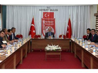İl İstihdam Kurulu Toplantısı Vali Ali Hamza Pehlivan Başkanlığında Gerçekleştirildi