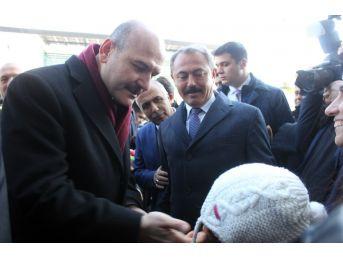Bakan Soylu Ve Zeybekci Denizli'de