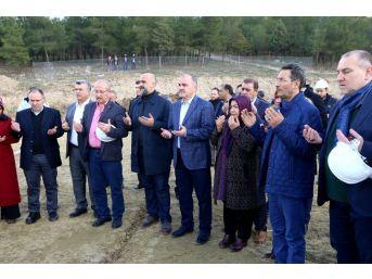 Pamukkale Aktepe Kültür Merkezi'nin Temeli Atıldı