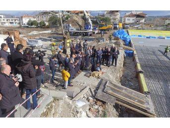 Pamukkale Belediyesi'nin 55 Milyonluk Yatırımının Temeli Atıldı