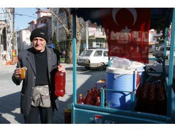 Seyyar Turşucudan Afrin Şehidi Özalkan'ın Vasiyetini İçin Destek