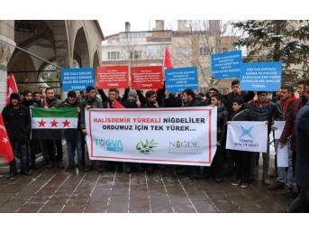 Afrin'de Asker Olmak İçin Dilekçe Verdiler