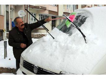 Sivas'ta 410 Köy Yolu Ulaşıma Kapandı