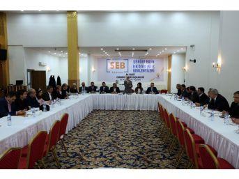 Yozgat'ta Şehirlerin Ekonomik Beklentileri Formu Düzenlendi