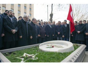 Bbp'nin 25. Kuruluş Yıl Dönümünde Muhsin Yazıcıoğlu Kabri Başında Anıldı
