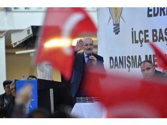 Ak Parti Edremit Danışma Meclisi'nde Kafaoğlu, Coşkusu