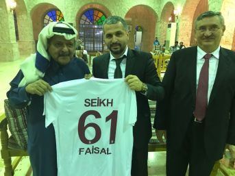 Katar İşadamları Derneği Başkanı Şeyh Faysal Trabzon'a Geliyor