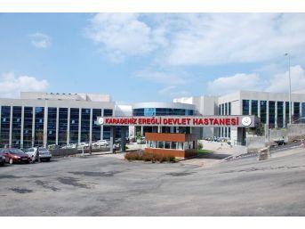 Kdz. Ereğli Devlet Hastanesi 955 Bin 818 Hastaya Hizmet Verdi