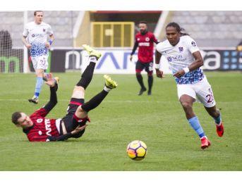 Spor Toto Süper Lig: Gençlerbirliği: - Trabzonspor: (ilk Yarı)