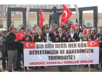 Ahıska Türklerinden Afrin Operasyonuna Destek