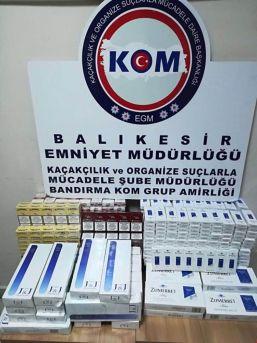 810 Paket Kaçak Sigara Ele Geçirildi