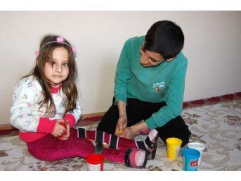 (özel Haber) Engelli Hilal'e Zeynep Öğretmen Işık Oldu