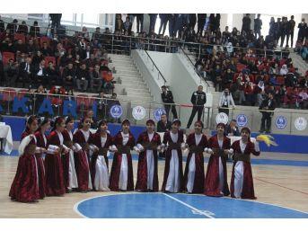 Hakkari'de Okullar Arası Halk Oyanları İl Birinciliği Sonuçlandı