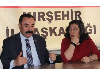 Chp Kırşehir Kadın Kolları Başkanı Yenidünya, Kadın Kolları Genel Başkanlığına Adaylığını Açıkladı