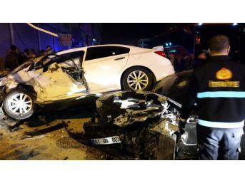 Midyat'ta Trafik Kazası 6 Yaralı