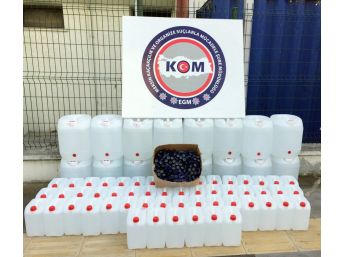 Mersin'de 750 Litre Sahte İçki Ele Geçirildi