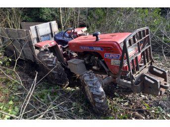 Odun Toplamak İçin Gitti, Dönüş Yolunda Traktörün Altında Kalarak Hayatını Kaybetti