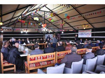 Kahta'da İstişare Toplantısı Düzenlendi