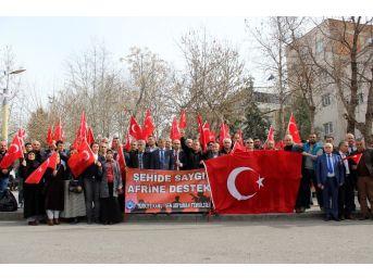 """Türkiye Kamu-sen'den """"şehide Saygı, Afrin'e Destek"""" Açıklaması"""