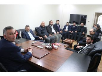 İl Başkanı Altınsoy, Başkan Kayan Ve Üreticilerle Buluştu