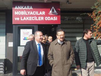 Başkan Tiryaki'den Mobilyacılar Odasına Ziyaret
