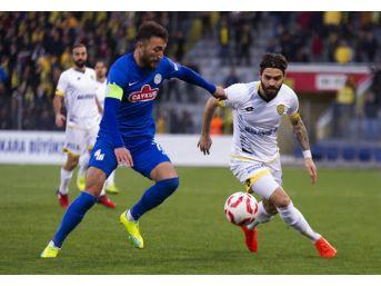 Spor Toto 1. Lig: Mke Ankaragücü: 2 - Çaykur Rizespor: 4