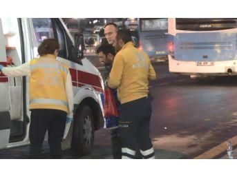 Yolun Karşısuna Geçen Yayaya Otobüs Çarptı