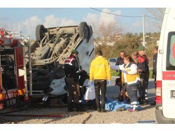 Antalya'da Trafik Kazası: 1 Ölü, 3 Yaralı
