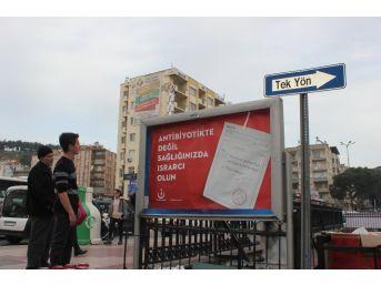 Aydın'da Antibiyotik Kullanıma Karşı Vatandaşlar Bilgilendiriliyor