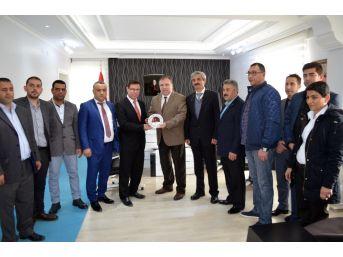 Didim Esnaf Odası'nın Yeni Yönetiminden Protokol Ziyaretleri