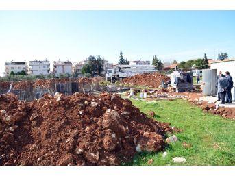 Didim İlçe Tarım Müdürlüğü Hizmet Binasının Temeli Atıldı