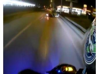 (özel Haber) Yola Dökülen Mazot Motosikletlileri Canından Ediyordu