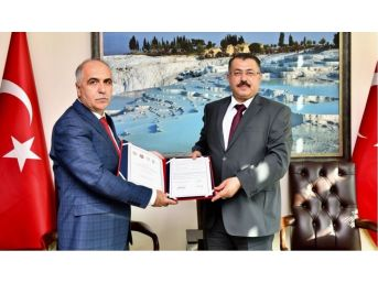 Denizli'de, 'denetimli Serbestlik İşbirliği' Protokolü İmzalandı