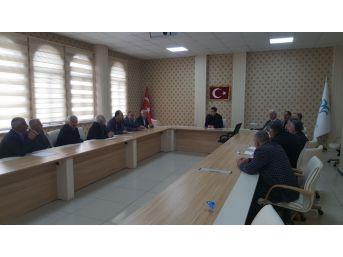 Başkan Gülenç, Muhtarlar İle İstişare Toplantısı Yaptı
