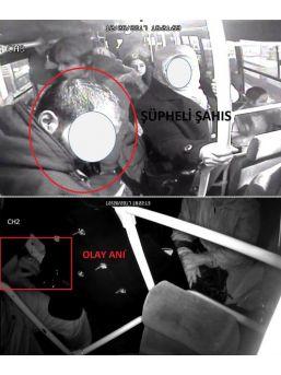 Halk Otobüslerinde Yankesicilik Yapan Şahıs Tutuklandı