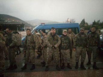 Nurdağı'ndan 15 Köy Korucusu Afrin'e Yola Çıktı