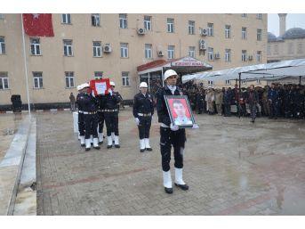 Şehit Polis Memuru Törenle Memleketine Uğurlandı