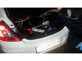(özel Haber) Üsküdar'da Silahlı Hırsız Polis Kovalamacası