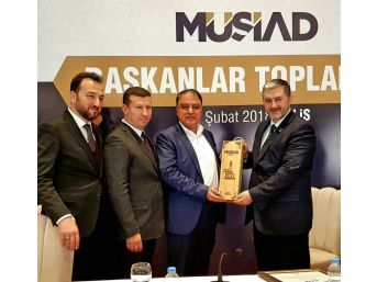 Müsiad İzmir'den Kilis'e Zeytin Fidanı