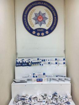 Kars'ta, Kaçak Sigara Operasyonu