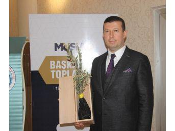 Müsiad İzmir Şube Başkanı Ülkü'den Zeytin Dallı Destek