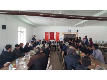 Kaman İlçesi Aydınlar Köyü'nde Çiftçi Bilgilendirme Toplantısı Yapıldı
