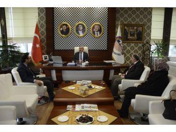Başkan Baran Stk Temsilcilerini Ağırladı