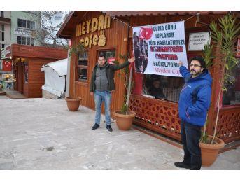1 Günlük Hasılatını Mehmetçik Vakfı'na Bağışladı