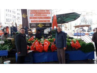 1 Günlük Kazancını Mehmetçiğe Bağışladı
