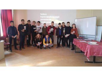 Lise Öğrencilerine Bağımlılıkla Mücadele Eğitimi