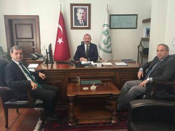 Özkan'dan Dsi 3'üncü Bölge Müdürü'ne Ziyaret