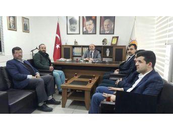 Tümsiad Yönetiminden Başkan Çetinbaş'a 'hayırlı Olsun' Ziyareti