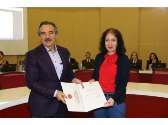 Rektör Bağlı, Akademik Yükseliş Gösteren Öğretim Üyelerini Tebrik Etti